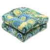 Pillow Perfect Omnia Wicker Seat Cushion (Set of 2)