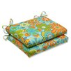 <strong>Pillow Perfect</strong> Glynis Seat Cushion (Set of 2)