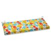 Pillow Perfect Paint Splash Bench Cushion