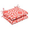<strong>Pillow Perfect</strong> Carmody Seat Cushion (Set of 2)