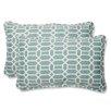 Pillow Perfect Rhodes Throw Pillow (Set of 2)