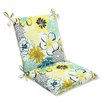 <strong>Pillow Perfect</strong> Floral Fantasy Chair Cushion
