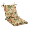 <strong>Pillow Perfect</strong> Botanical Glow Tiger Stripe Chair Cushion