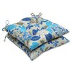 <strong>Pillow Perfect</strong> Fancy a Floral Seat Cushion (Set of 2)