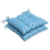 <strong>Pillow Perfect</strong> Centro Wrought Iron Seat Cushion (Set of 2)
