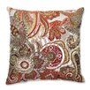 <strong>Pillow Perfect</strong> Crazy Rosewood Throw Pillow
