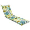 <strong>Floral Fantasy Chaise Lounge Cushion</strong> by Pillow Perfect