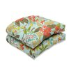 <strong>Pillow Perfect</strong> Fancy a Floral Wicker Seat Cushion (Set of 2)