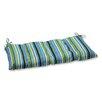 Pillow Perfect Topanga Wrought Iron Loveseat Cushion
