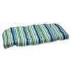 Pillow Perfect Topanga Wicker Loveseat Cushion