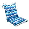Pillow Perfect Panama Wave Chair Cushion