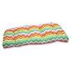 Pillow Perfect Panama Wave Wicker Loveseat Cushion