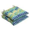 Pillow Perfect Zulu Wrought Iron Seat Cushion (Set of 2)