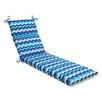 Pillow Perfect Panama Wave Chaise Lounge Cushion