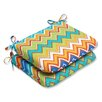 Pillow Perfect Zig Zag Seat Cushion (Set of 2)