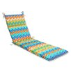 <strong>Zig Zag Chaise Lounge Cushion</strong> by Pillow Perfect