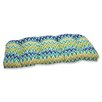 Pillow Perfect Zulu Wicker Loveseat Cushion