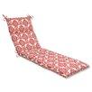 Pillow Perfect Luminary Chaise Lounge Cushion