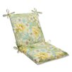 <strong>Pillow Perfect</strong> Sugar Beach Chair Cushion