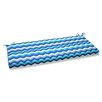 Pillow Perfect Panama Wave Bench Cushion