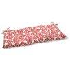 Pillow Perfect Luminary Wrought Iron Loveseat Cushion