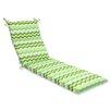 Pillow Perfect Panama Wave Chaise Lounge Cushion