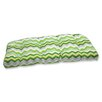 Pillow Perfect Panama Wave Wicker Loveseat Cushion