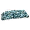 Pillow Perfect Pretty Wicker Loveseat Cushion