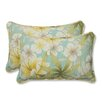 <strong>Pillow Perfect</strong> Sugar Beach Throw Pillow (Set of 2)