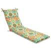 Pillow Perfect Santa Maria Chaise Lounge Cushion
