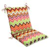Pillow Perfect Zig Zag Chair Cushion