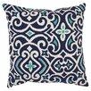 Pillow Perfect Damask Floor Throw Pillow