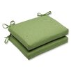 <strong>Pillow Perfect</strong> Canvas Corners Seat Cushion (Set of 2)