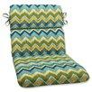 Pillow Perfect Tamarama Corners Chair Cushion