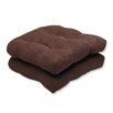 <strong>Mandeyia Wicker Seat Cushion (Set of 2)</strong> by Pillow Perfect