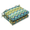 Pillow Perfect Tamarama Corners Seat Cushion (Set of 2)