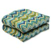 Pillow Perfect Tamarama Wicker Seat Cushion (Set of 2)
