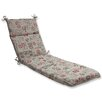 Pillow Perfect Carte Postale Chaise Lounge Cushion