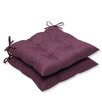<strong>Rave Wrought Iron Seat Cushion (Set of 2)</strong> by Pillow Perfect