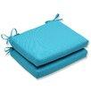 Pillow Perfect Veranda Corners Seat Cushion (Set of 2)