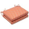 Pillow Perfect Hockley Corners Seat Cushion (Set of 2)