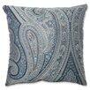 Pillow Perfect Royal Paisley Throw Pillow