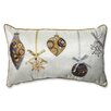Pillow Perfect Holiday Ornaments Throw Pillow