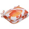 Pillow Perfect Fish Rounded Corner Seat Cushion (Set of 2)