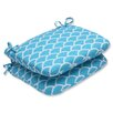 Pillow Perfect Sunny Rounded Corner Seat Cushion (Set of 2)