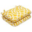Pillow Perfect New Geo Rounded Corner Seat Cushion (Set of 2)