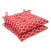 Pillow Perfect Sunny Wrought Iron Seat Cushion (Set of 2)