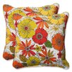 Pillow Perfect Square Throw Pillow (Set of 2)