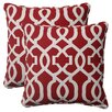 <strong>Pillow Perfect</strong> New Geo Corded Throw Pillow (Set of 2)