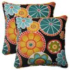 <strong>Pillow Perfect</strong> Rondo Corded Throw Pillow (Set of 2)